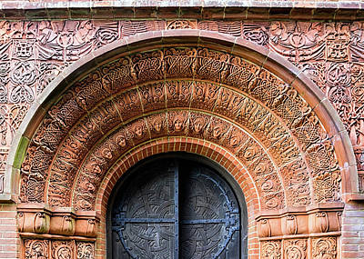 Photograph - Watts Chapel Door by Shirley Mitchell