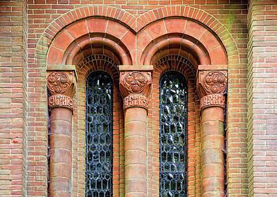 Photograph - Watts Chapel Windows by Shirley Mitchell
