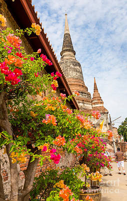 Photograph - Wat Yai Chai Mongkhol Temple by Rene Triay Photography
