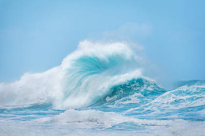 Photograph - Wave #1 by Tex Wantsmore