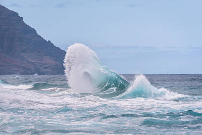 Photograph - Wave #2 by Tex Wantsmore
