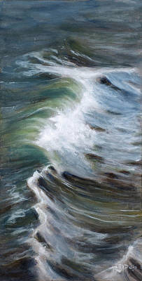 Wind Surfing Painting - Wave 75 by Christopher Reid