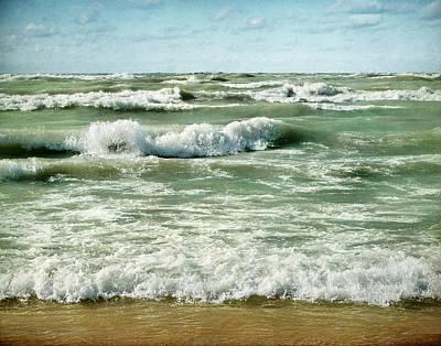 Wave Action Art Print