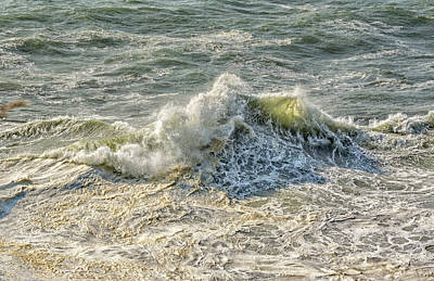 Photograph - Wave Art 43 by Bill Posner