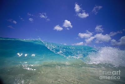 Wave At Shorebreak Art Print