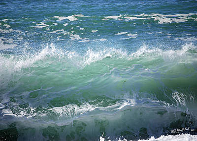 Wave Art Print by Barbara MacPhail