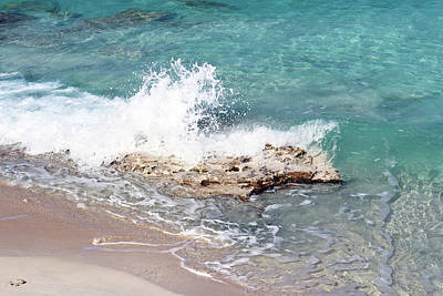 Photograph - Gentle Wave In Bimini by Samantha Delory