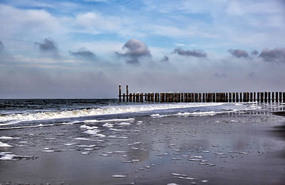 Photograph - Wave Breakers by Annie Snel