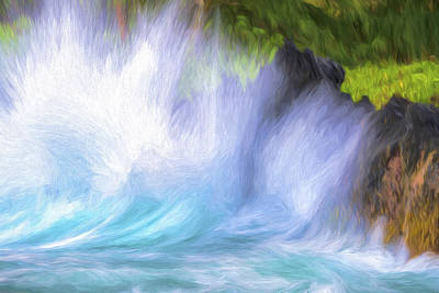 Digital Art - Wave Chaos II by Jon Glaser