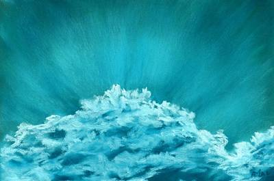 Painting - Wave Cloud - Sky And Clouds Collection by Anastasiya Malakhova