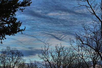 Photograph - Wave Clouds by Kathryn Meyer