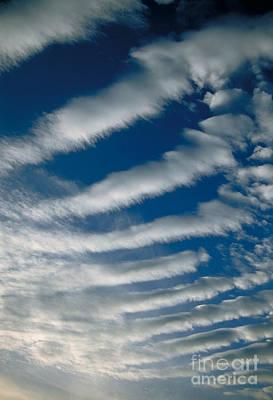 Photograph - Wave Clouds by Mark A Schneider