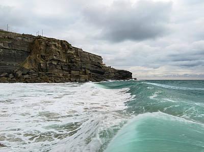 Photograph - Wave Crest by Edgar Laureano