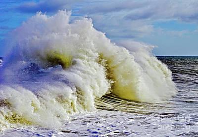 Photograph - Moody Surf by Michael Cinnamond