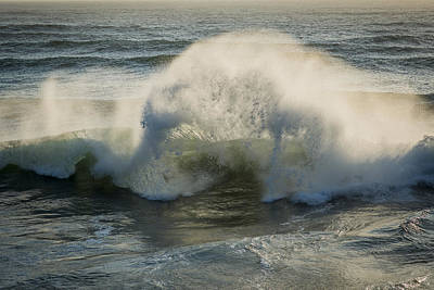 Photograph - Wave Explosion by Robert Potts