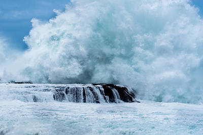 Photograph - Wave Explosion  by Tex Wantsmore