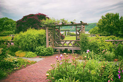 Photograph - Wave Hill Respite by Jessica Jenney