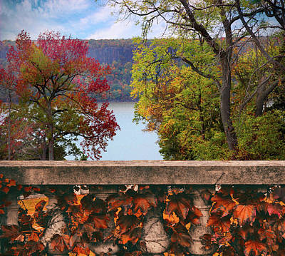 Photograph - Wave Hill River View by Jessica Jenney