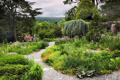 Photograph - Wave Hill Spring Garden by Jessica Jenney
