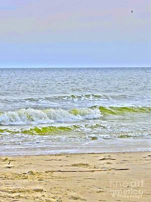 Photograph - Wave II by Shelia Kempf