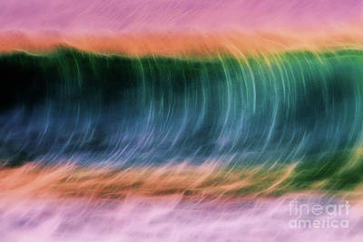 Photograph - Wave In Motion by Patti Schulze