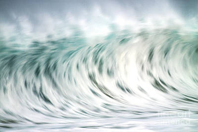 Wave In Motion Art Print