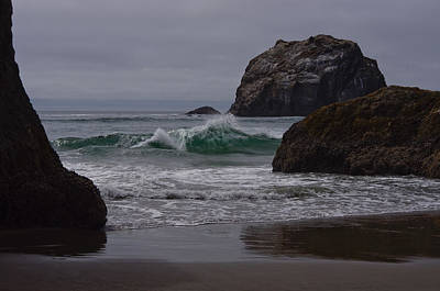 Photograph - Wave In Seagreen by Adria Trail