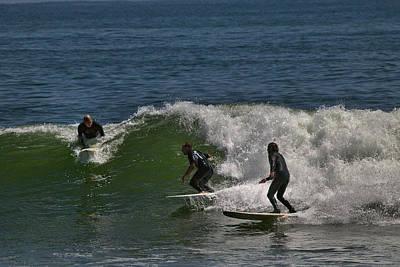 Photograph - Wave Jam by Michael Gordon
