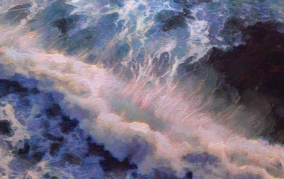 Painting - Wave by Lelia DeMello