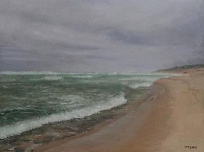 Painting - Wave by Masami Iida