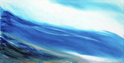 Painting - Wave Of Delight by Su Nimon