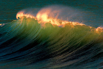 Photograph - Wave Of Fire by Susan Rissi Tregoning