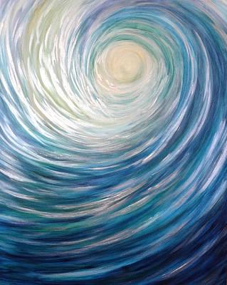 Wave Of Light Art Print
