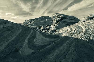 Photograph - Wave Rock - Split Tone by Jonathan Nguyen