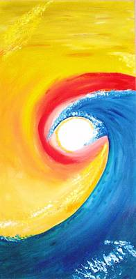 Painting - Wave by Sheila J Hall