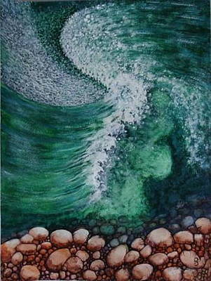 Painting - Wave by Silvia Gold