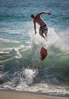 Photograph - Wave Skimmer by Jim Gillen