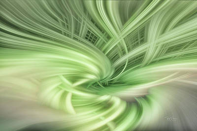 Digital Art - Wave Stand Abstract by Bill Posner