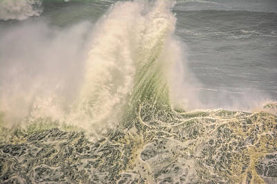 Photograph - Wave Stand by Bill Posner