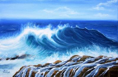 Wave Art Print by Vesna Martinjak