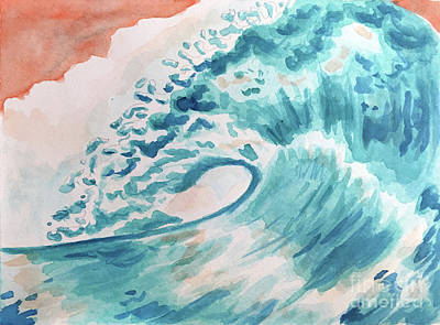 Painting - Wave by Whitney Morton