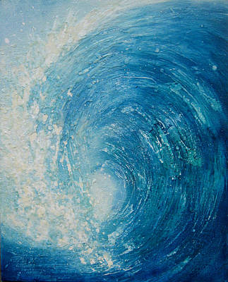 Painting - Wave Xiii by Martine Letoile