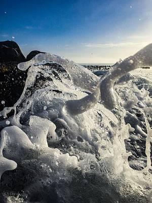 Photograph - Wavefoam by Alistair Lyne