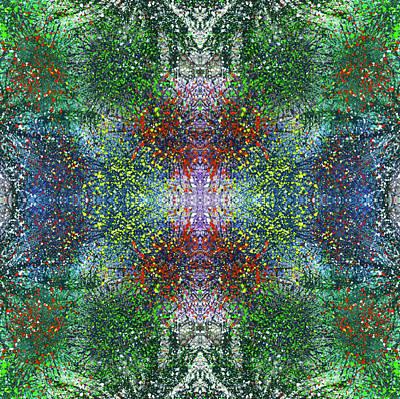 Joy Mixed Media - Wavelength Of Gratefulness #1489 by Rainbow Artist Orlando L aka Kevin Orlando Lau