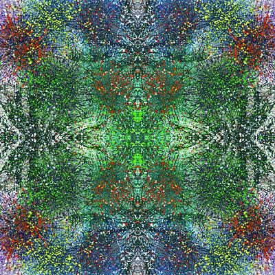 Joy Mixed Media - Wavelength Of Gratefulness #1492 by Rainbow Artist Orlando L aka Kevin Orlando Lau