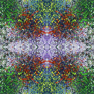 Joy Mixed Media - Wavelength Of Gratefulness #1493 by Rainbow Artist Orlando L aka Kevin Orlando Lau