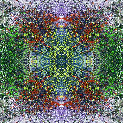Joy Mixed Media - Wavelength Of Gratefulness #1494 by Rainbow Artist Orlando L aka Kevin Orlando Lau