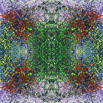 Joy Mixed Media - Wavelength Of Gratefulness #1496 by Rainbow Artist Orlando L aka Kevin Orlando Lau