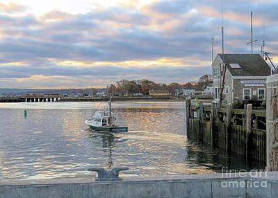 Photograph - Wavelength Plymouth Ma by Janice Drew