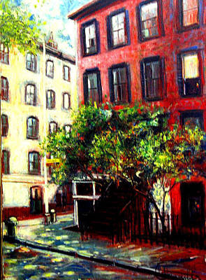 Painting - Waverly Inn by Walter Casaravilla